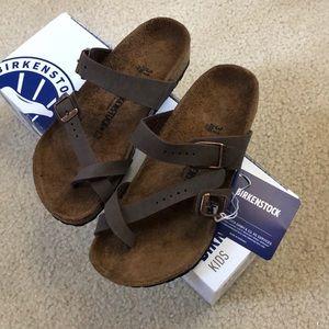 NEW Kids Girls Mayari Birkenstock Sandals